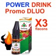 e liquide - LOT de 3 - POWER DRINK - DLUO DEPASSEE