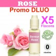 e liquide clop shop - LOT de 5 - ROSE - DLUO DEPASSEE