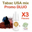 e liquide Airmust - LOT de 3 - TABAC Blond- DLUO DEPASSEE