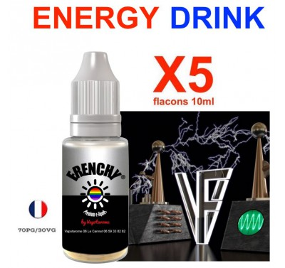 e liquide Frenchy - LOT de 5 - Energy Drink
