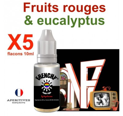 e liquide Frenchy - LOT de 5 - GINGER R