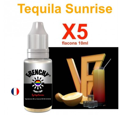 e liquide Frenchy - LOT de 5 - Tequila Sunrise