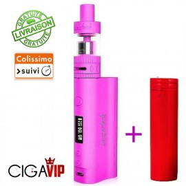 KIT SUBOX 50W ROSE + BATTERIE