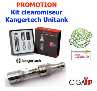 Kit Clearomiseur Kangertech UNITANK mini