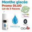 e liquide - LOT de 5 - Intense ICE - DLUO DEPASSEE